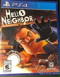 """Bakı şəhərində Ps4 ucun ,,Hello Neighbor""""oyun diski.Yenidir"""