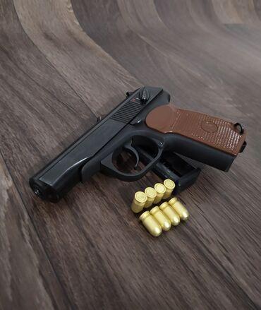 Спорт и хобби - Бишкек: Продаю !!! Шумовой пистолетМР-371 ( ПМ - Макарова )Калибр: 5.6 мм