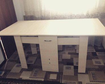 стол трансформер чёрного цвета в Кыргызстан: Стол трансформер!!!