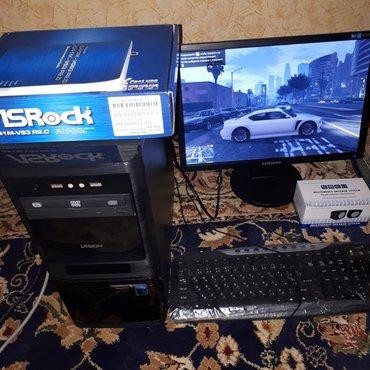 Игровой ПК DDR3+GTA5 cостояние идеальное с в Душанбе