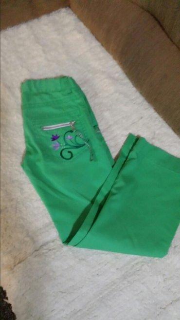 Tifani pantalone, nošene par puta, bez oštećenja, veličina 8, - Velika Plana