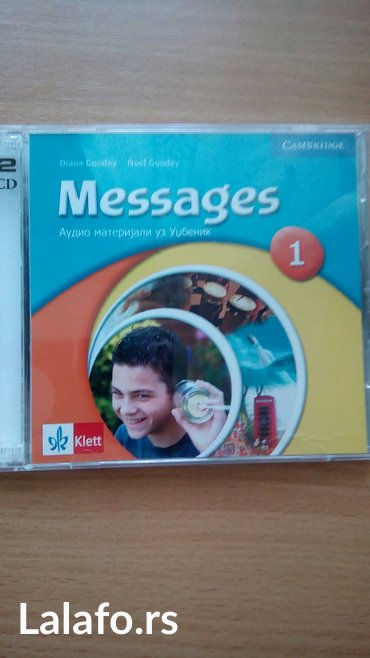 Messages 1, audio diskovi (dva cd-a), za praćenje lekcija iz - Belgrade