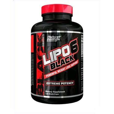 Lipo 6 Black от NutrexLipo-6 black – жиросжигатель нового уровня!