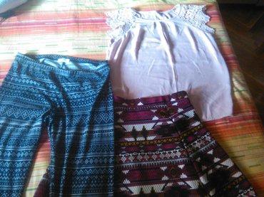 Paket garderobe- veoma povoljno. Paket sadrzi suknju, helanke timeout - Vranje
