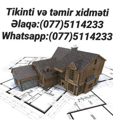 Tikinti və təmir Bina, həyət evlərinin, həmçinin restoranların