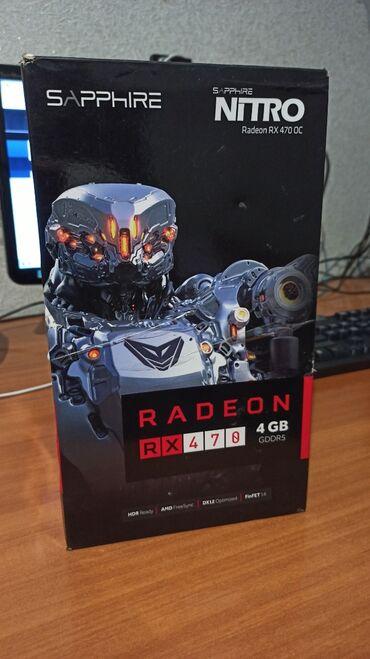 Sapphire Nitro Radeon RX 470 4gb GDDR5 256bit pci-e 3.0Карта в