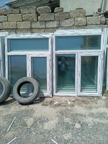 Pəncərələr - Azərbaycan: 120×155=90manat teze plastiq pencere  Binə sovxoz Kafe 500 un qarsisi