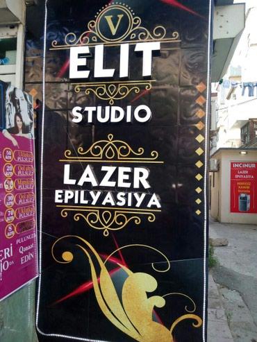 Bakı şəhərində Lazer epililyasiya ELIT studio Nerimanov Metro parkin yani yuksek xidm