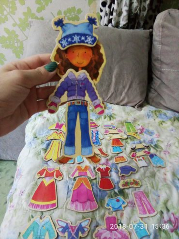 Магнитная кукла,куклы,игрушки в Бишкек