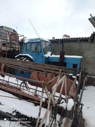 Находки, отдам даром - Кыргызстан: Трактор МТЗ 80 хорошем состоянии находится в такмаке мини торг