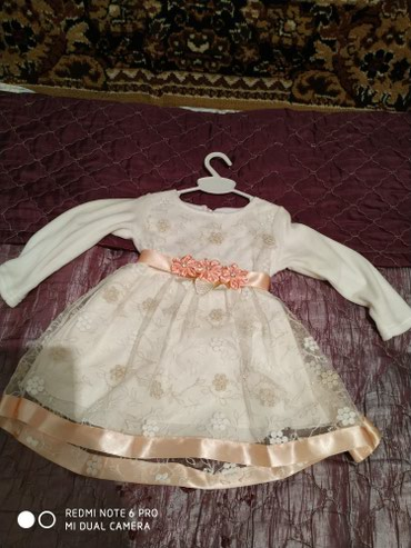 Красивое платье для девочки от годика до двух в Бишкек