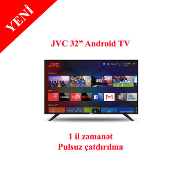 "Televizor jvc hd ready android led tv, 32"" -"