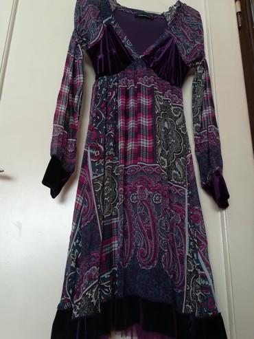 Duks haljina - Crvenka: Sarena haljina vel. 38