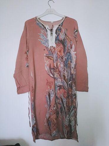 Женская одежда в Кызыл-Кия: Супер-цена Лёгкий домашний халат со штанами