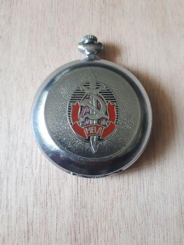 Механические часы молния 40лет МВД