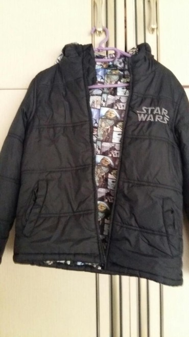 STAR WARS zimska jakna za decake vel. 11/12god.Polovna i