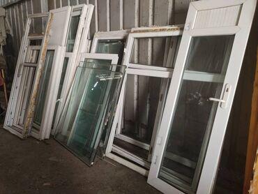 ustanovka windows s vyezdom na domu в Кыргызстан: Продам турецкие пластиковые окна б/уРазмеры окон высота и