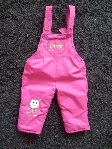 Dečije jakne i kaputi   Nis: Ski pantalone 18 mes ( usivena rupica pozadi)