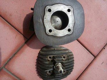 Cilindar sa klipom  TOMOS KAISAR f 40 i glava motora Obrenovac   - Obrenovac