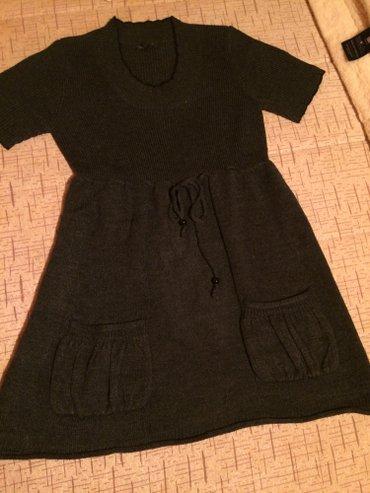 Pletena haljina, velucina m, boja tamno siva. - Kraljevo