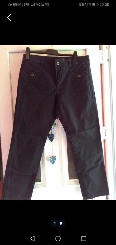 Ženska odeća   Sombor: Pantalone crne za krupnije