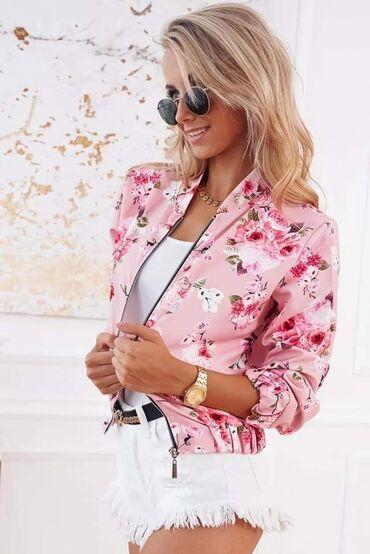 Maslinasto zelena jakna - Srbija: Cvetne jaknice NOVO SA ETIKETOM!* Nova Kolekcija *Dostupne boje