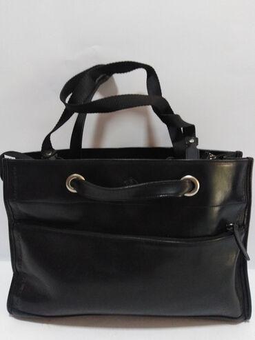 Manual torba - Srbija: MANUAL velika vrhunska kožna torba izradjena od prirodne fine