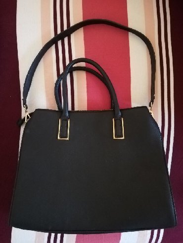 Torba cm x - Srbija: H&M torba, crna bez ostećenja(kao nova) 32x38 cm