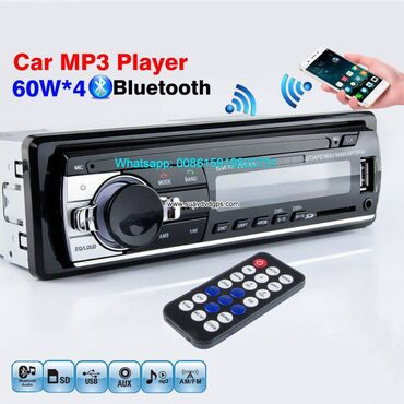 Car radio 1Din MP3 Player FM Audio Music USB SD Digital Bluetooth  Mod