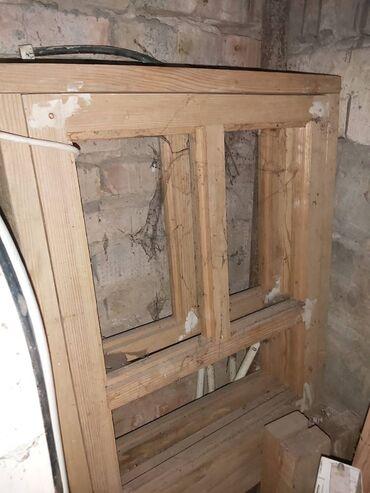 Услуги - Шопоков: Окна и двери 2 блока с двойными рамами, новые (сосновые)Высота