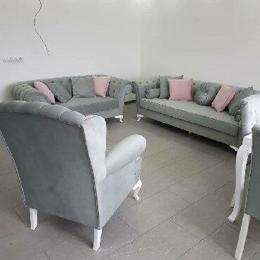 chester sofa - Azərbaycan: Chester divan 750 azn kreslo 300 aznistenilen reng olcu ve turk
