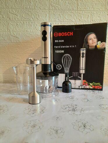bosch dmf 10 zoom professional в Кыргызстан: Блендер Bosch с чашей измельчения, венчиком и стаканом.Bosch —