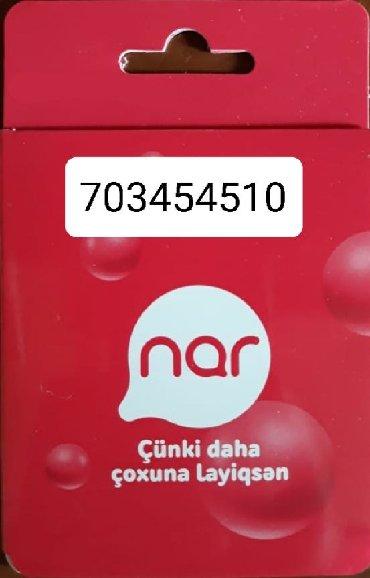 SİM-kartlar Azərbaycanda: Nomre ishlenib. Nar 703454510