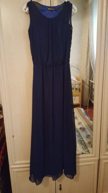 вечернее платье темно синего в Кыргызстан: Платье турецкое из шифона, с подкладом. Подойдет как вечерний так и