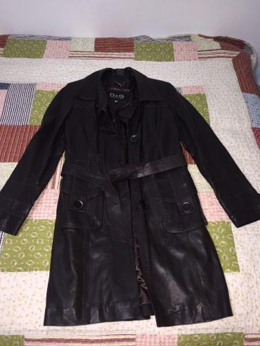 Кожанная куртка 250$ длинная до колен, фирменная. в Кант