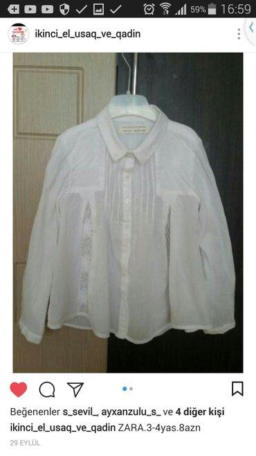 Bakı şəhərində Zara 3-4 yas. Profilde basqa usaq paltarlari da var.