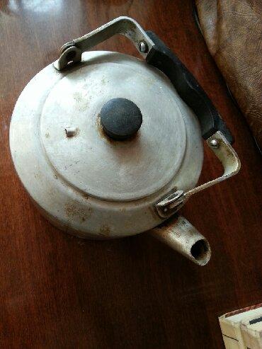 Чайник советский алюминевый обьем 4 литра в Бишкек