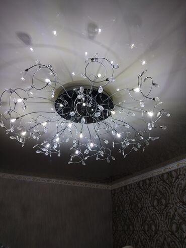 Декор для дома - Кыргызстан: Продаю люстру, красивая,богатая. Можно в таком виде,можно с