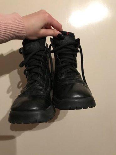 Dečija odeća i obuća - Gornji Milanovac: Kozne cipele, decije, nosene ali su veoma dobro ocuvane. Broj 34.Za
