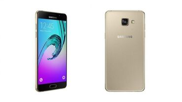 сканер mustek a3 в Кыргызстан: Б/у Samsung Galaxy A3 2016 16 ГБ Золотой