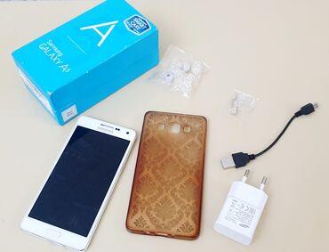 телефон раскладушка флай ezzy trendy в Азербайджан: Б/у Samsung Galaxy A5 16 ГБ Белый