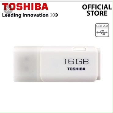 Bakı şəhərində Yeni. Toshiba usb yaddas kart 8gb-13azn/16gb-17azn/32gb-25azn. yeni.