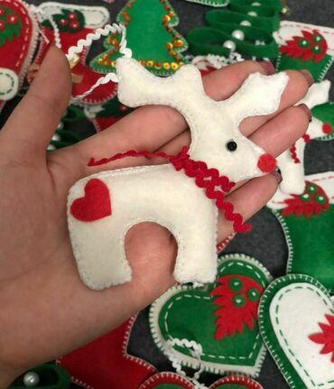 g shock ga 100 в Кыргызстан: Новогодние игрушки из фетра своими руками. 1шт 100 сом
