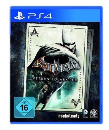 Bakı şəhərində Ps4 ucun Batman oyunu bagli upokovkada