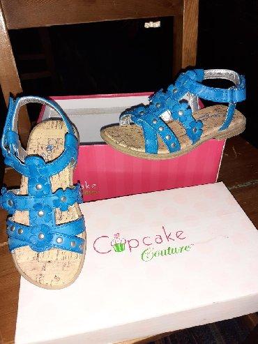 Decije sandalice Cupcake br.25. NovoPotpuno nove . nisu nosene ni