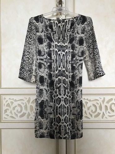Платье атласное. выше колен. в Бишкек