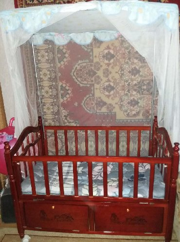 Продаю Детскую Кроватку с Балдахином!!! И Люлька с балдахином. В