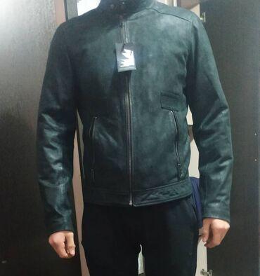 Продаю новую фирменую куртку деми натуральная мат кожа производство