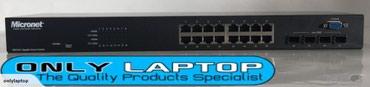 Гигабитный смарт-коммутатор MicroNet SP676C  в Бишкек