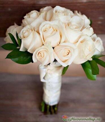 Свадебный букет невесты - живые цветы  Оформление свадеб Букет для не